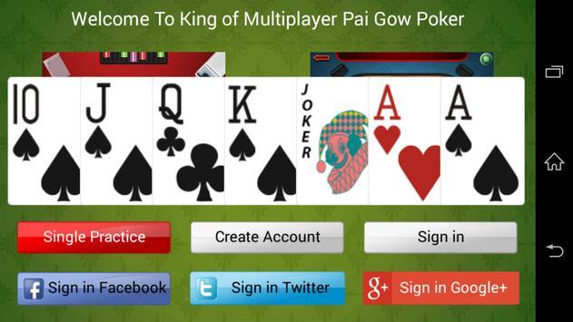 Pai Gow Poker King poster