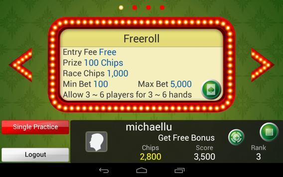 Pai Gow Poker King screenshot 12