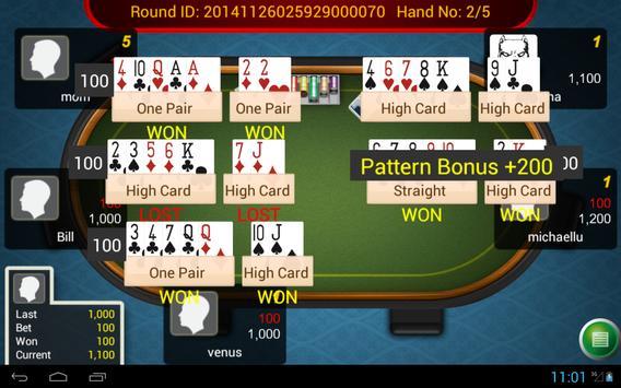 Pai Gow Poker King apk screenshot
