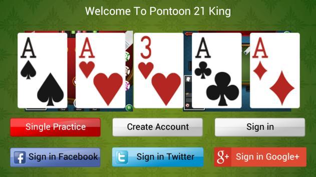 Pontoon 21 King poster