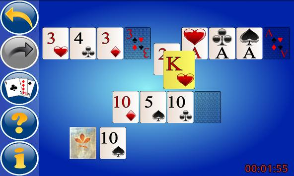 Up and Down Solitaire screenshot 1