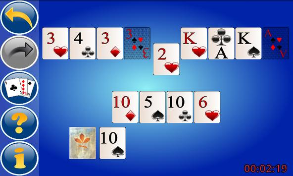 Up and Down Solitaire screenshot 2