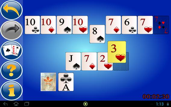 Up and Down Solitaire Free apk screenshot