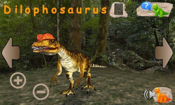 Learning Dinosaurs 3D Free apk screenshot