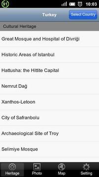 World Heritage in Turkey poster