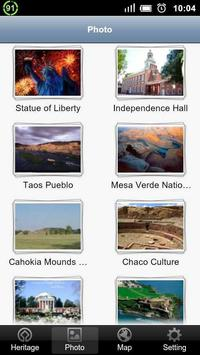 World Heritage in USA apk screenshot