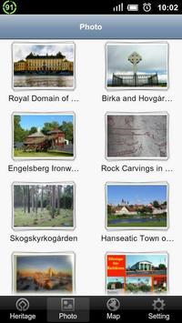World Heritage in Sweden screenshot 1
