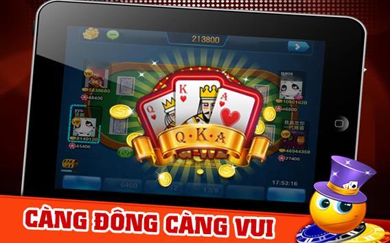 QKA - Game bai doi thuong 2016 screenshot 1