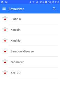 Medical terminology - Offline apk screenshot