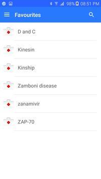Medical terminology screenshot 5