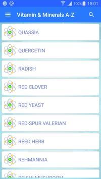 Vitamin & Minerals - Offline apk screenshot
