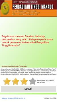 Survey Kepuasan Masyarakat-PT Manado screenshot 1