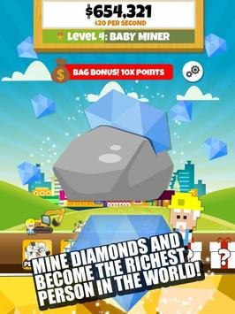 Diamond Miner 2: Idle Empire apk screenshot