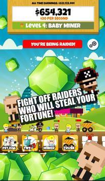 Jade Miner: Clicker Empire screenshot 1