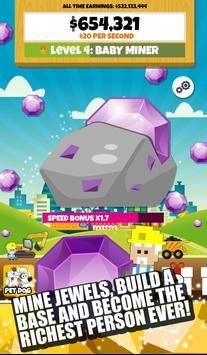 Jewel Miner 2: Clicker Empire poster