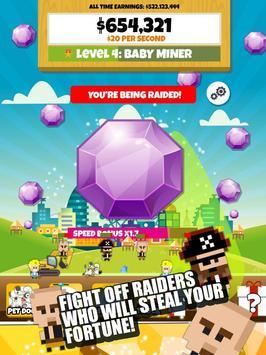 Jewel Miner 2: Clicker Empire apk screenshot