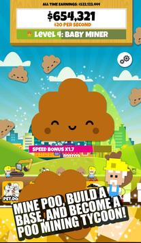 Poo Miner: Clicker Game poster