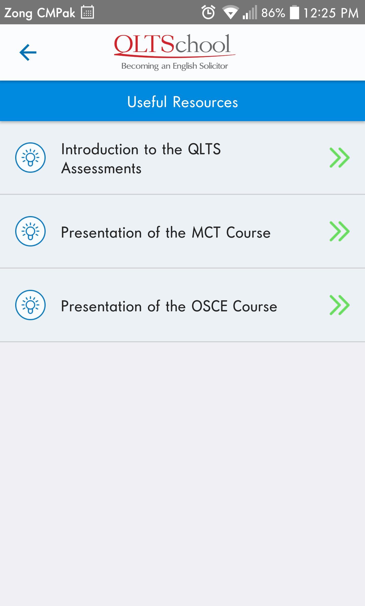 Qlts Osce Courses