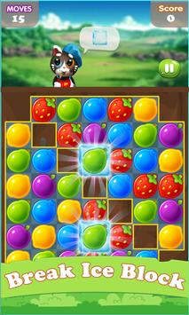 Fruits Free Match 3 apk screenshot