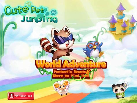 Cute Pet Jumping apk screenshot