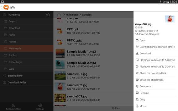 Qfile APK-screenhot