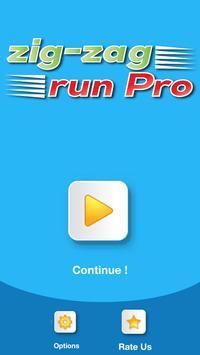 Zig Zag Run Pro poster