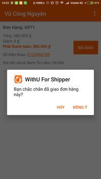 WithU For Shipper screenshot 3