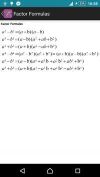 formules du math gratuit apk screenshot
