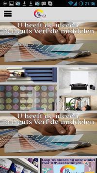 Jo Heuts Verf poster