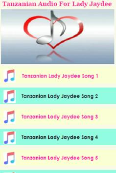 Tanzanian Audio for Lady Jaydee Songs poster