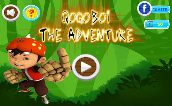 Qoqoboy Jungle Run Adventure poster