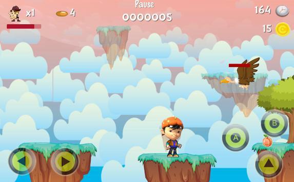 Qoqoboy Jungle Run Adventure apk screenshot