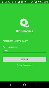 QPONSS Merchant poster