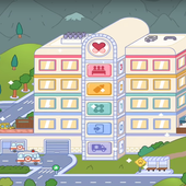 Tips for Toca Life Hospital icon