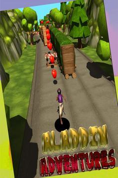 Mysterious jungle aladin run poster