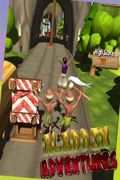Mysterious jungle aladin run screenshot 1