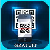 SCAN QR CODE GRATUIT icon