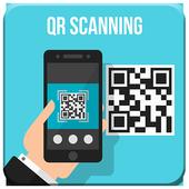 QR scanning icon