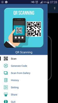 QR scanning poster