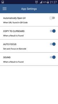 QR scanning screenshot 1