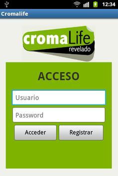 Cromalife apk screenshot