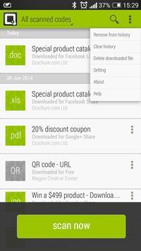 Qrochure Reader apk screenshot