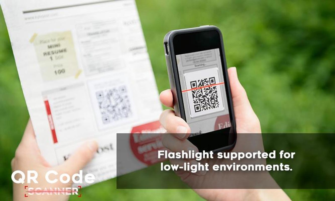 qr code scanner barcode reader for android apk download. Black Bedroom Furniture Sets. Home Design Ideas