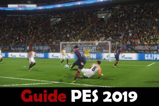 Guide PES 2019 Pro poster