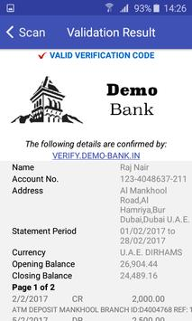 Document Validator TP screenshot 2