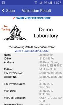 Document Validator TP screenshot 4