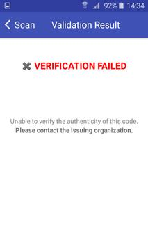 Document Validator TP screenshot 5