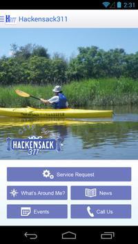 Hackensack 311 apk screenshot