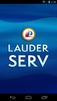 Lauderserv poster