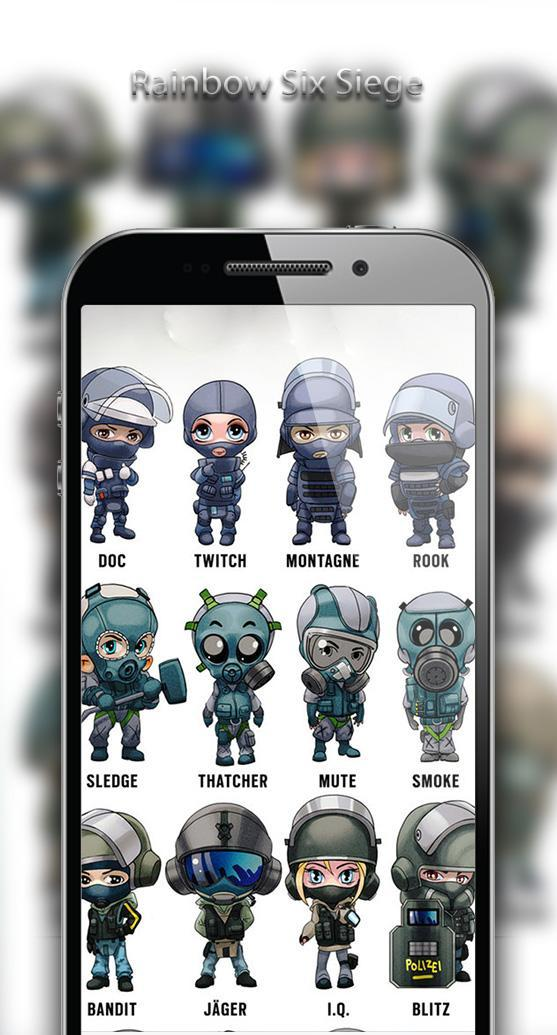 Rainbow Six Siege Game Wallpaper For Android Apk Download